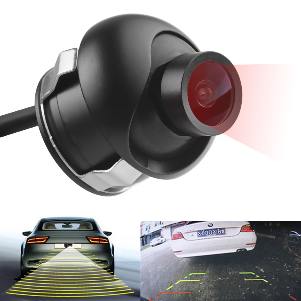 E319 170 Degrees Waterproof Easy Installation Night Vision and High-Quality Car Camera with A Hole Saw