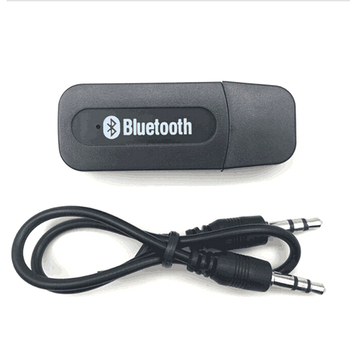 USB Bluetooth Aux Wireless Portable Mini Car Bluetooth Music Audio Receiver Adapter 3.5mm Stereo Audio for iPhone Android phones image