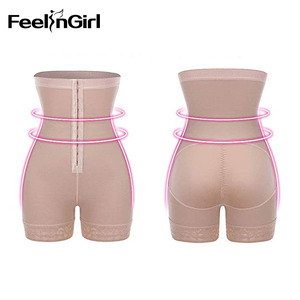 Image 4 - FeelinGirl Women High Waist Control Panties Body Shaper Slimming Tummy Underwear Girdle Panty Shapers Butt Lifter Hip Enhancer