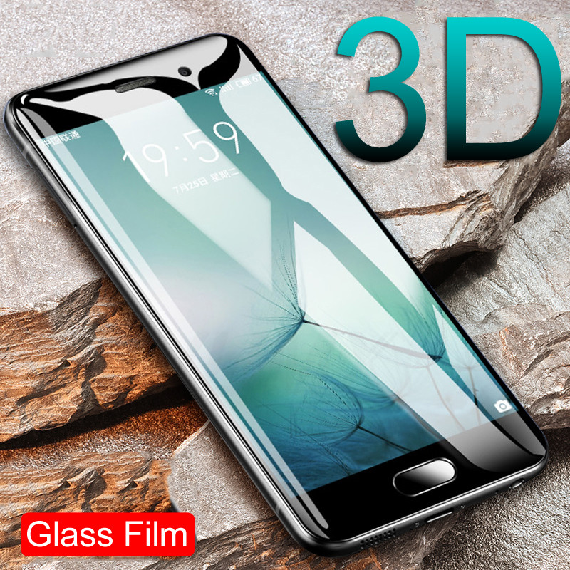 Full Cover Tempered Glass On The For <font><b>Meizu</b></font> M3 M3S M3E M5 M5S <font><b>M5C</b></font> M6 M6S M3 Note M5 Note M6 Note Pro 6 7 Screen Protective Glass image