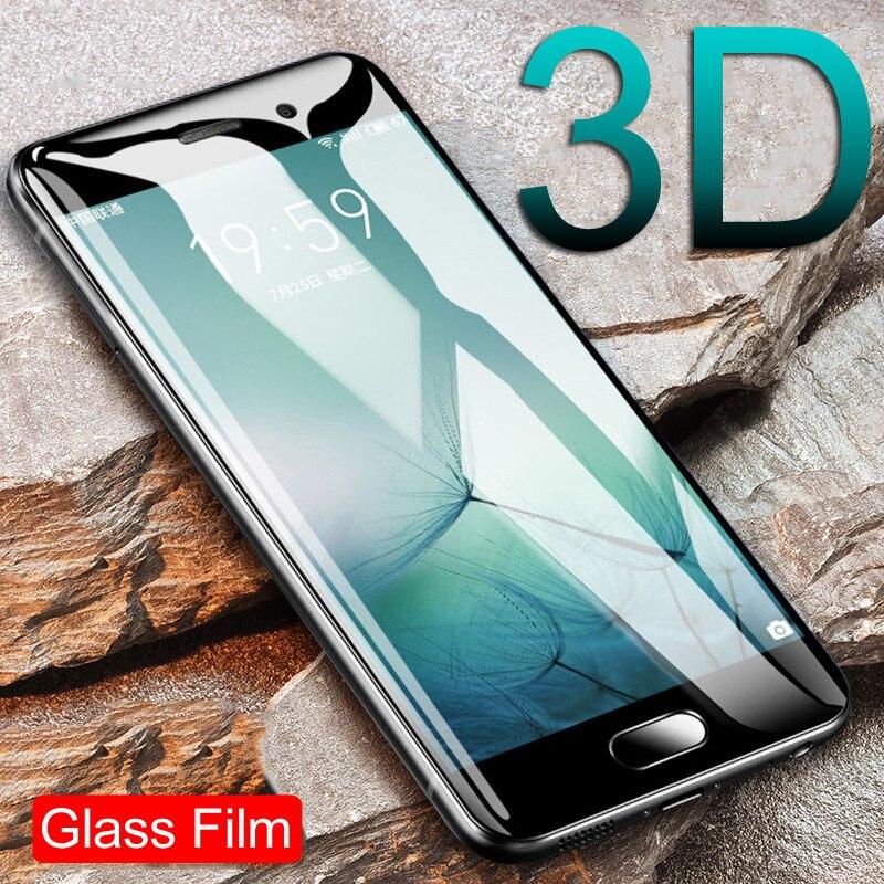 La cubierta de vidrio templado en El para Meizu M3 M3S M3E M5 M5S M5C M6 M6S M3 nota M5 nota M6 Pro 6 7 protector de pantalla de cristal