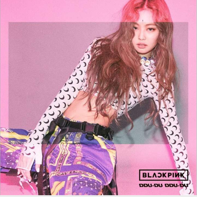 Wave Point Long Sleeve Sexy BLACKPINK Kpop Korean Style New Star Of The Same Genre 2019 New Arrival Cool Tight Fit Long Sleeve