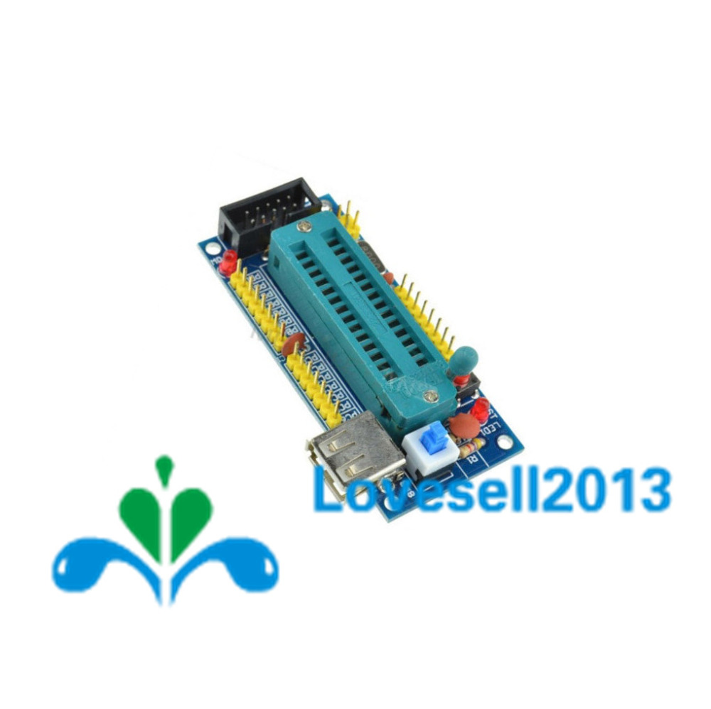 DIY Kit ATmega8 ATmega48 AVR Mindestsystem Development Board Kits ...