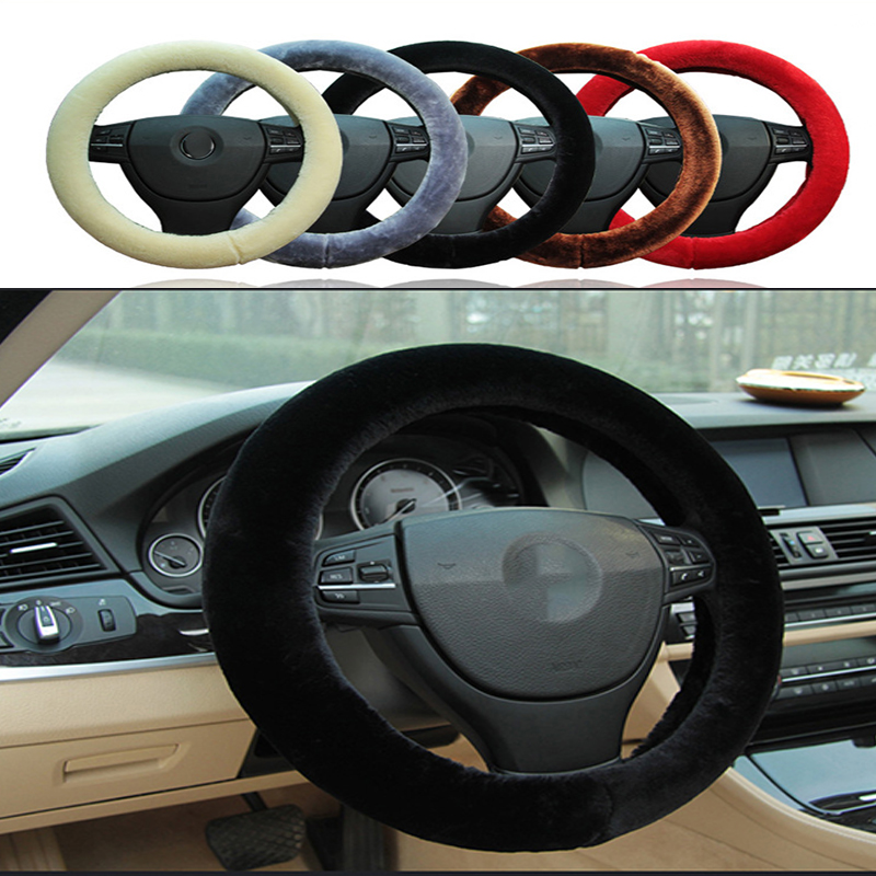 Non-slip Car Styling Steering Wheel Cover For Cadillac Cts Srx Ats Lexus Rx Nx Gs Ct200h Gs300 Rx350 Rx300 Saab 9-3 9-5 93 With A Long Standing Reputation