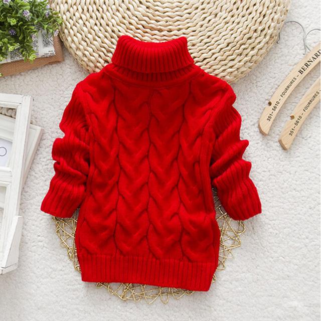 Venta caliente Infantil Del Bebé Niñas niños Otoño/Ropa de Invierno Suéteres Niños Kintted Suéteres de Cuello de Vestir Exteriores