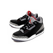 Original New Arrival Authentic Nike Air Jordan 3 Black Cement AJ3 Men 's Basketball Shoes Sport Outdoor Sneakers
