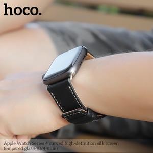 Image 4 - 3D изогнутый чехол для Apple Watch iWatch Series 5 Series 4 40 мм 44 мм