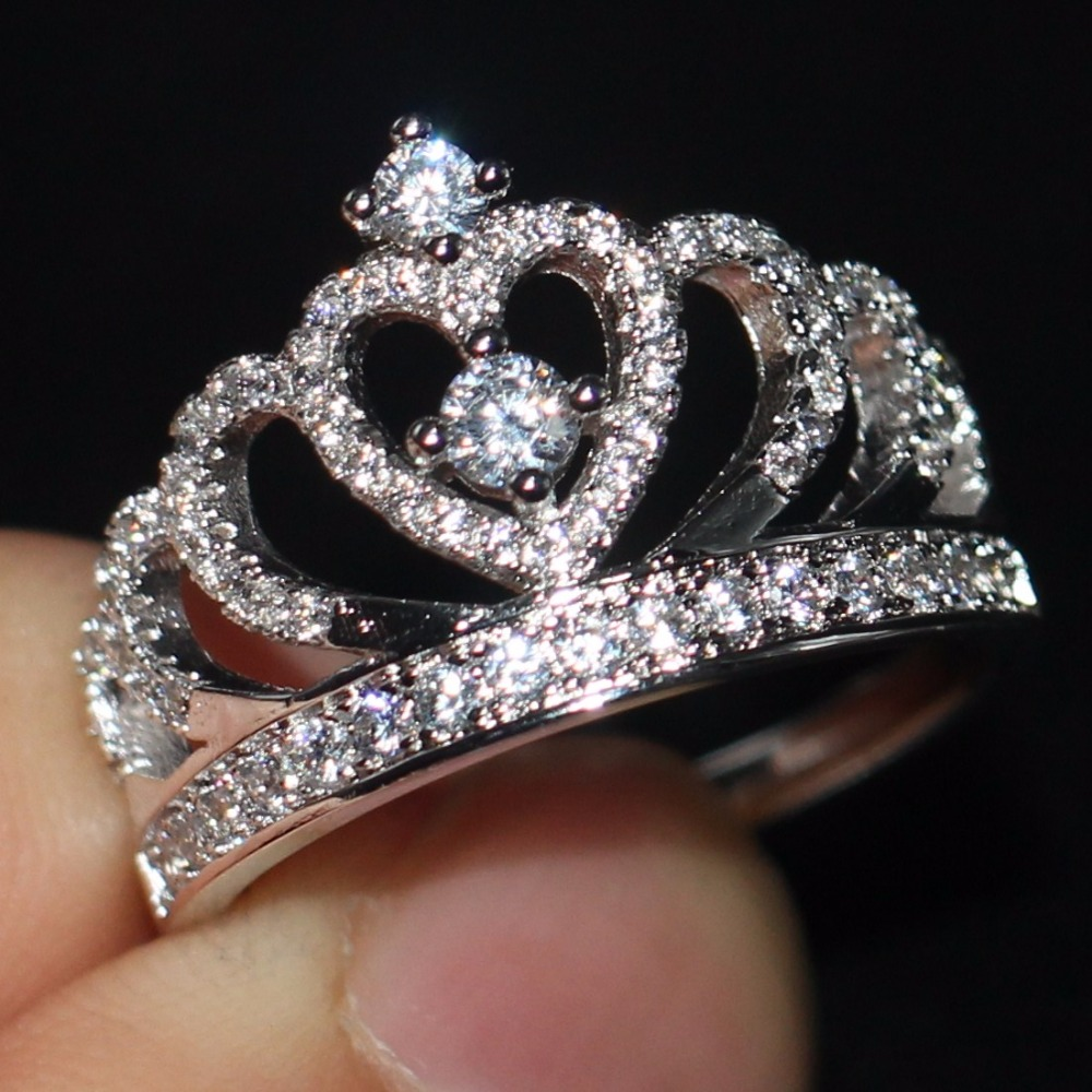 Online Cheap Crown Rings Group