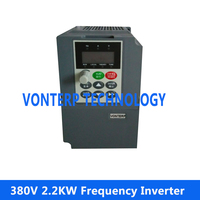 2.2KW 380V frequency inverters Vector Control Frequency Converter MINI TYPE