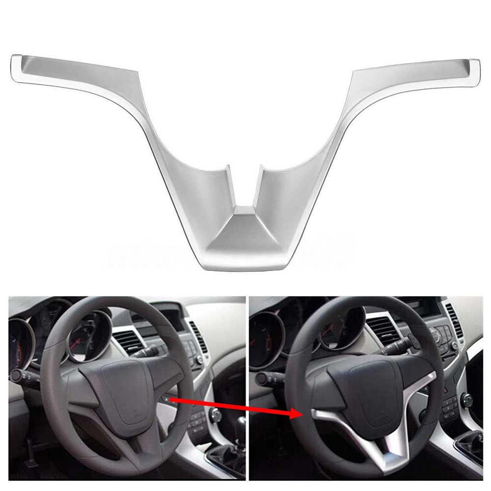 רכב הגה הכנס Trim כיסוי מדבקת פנים קישוטי עבור שברולט/Cruze/סדאן/Hatchback באיכות גבוהה