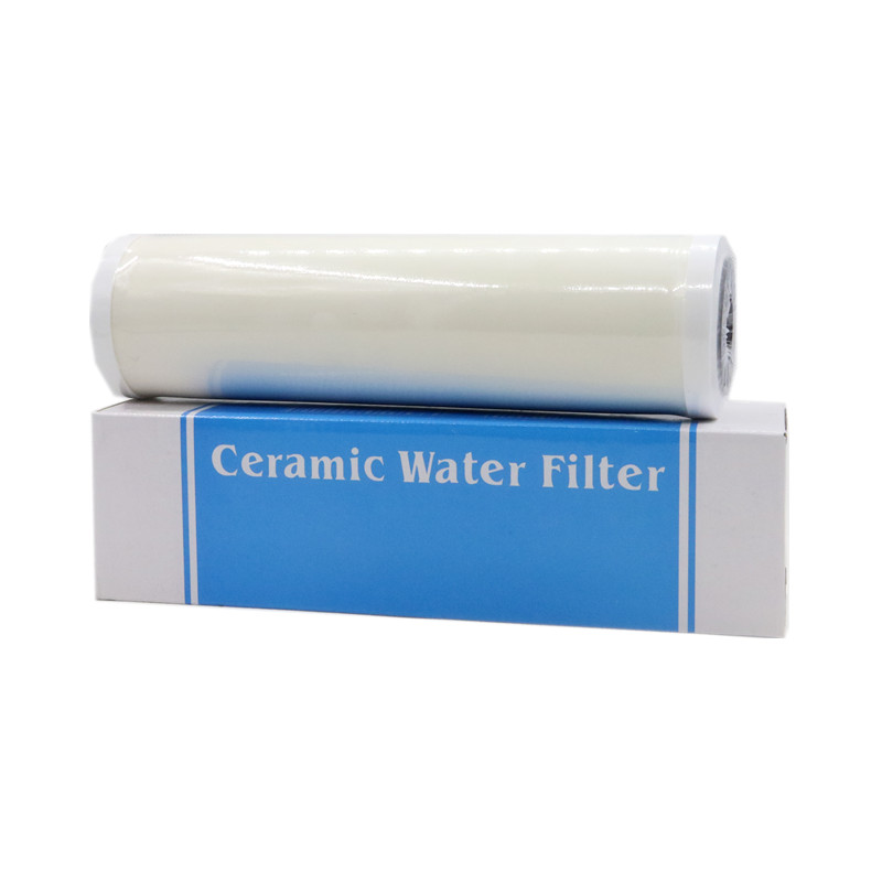 10 Inch Thicken High-precision Ceramic Pre-Filter Cartridge Candle Water Purifier Filter Reusable Clean Instead PP Cotton fresh water filter instead of water tablets