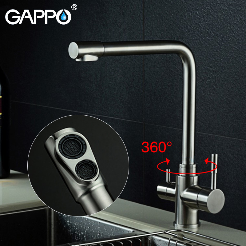 Gappo Kitchen Faucets Rotatable Kitchen Water Faucet Flexible Sink Mixer Water Taps Deck Mounted Mixer Tap Torneira Monocomando