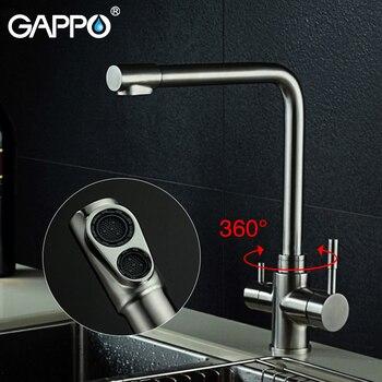 Gappo kitchen Faucets rotatable kitchen water faucet flexible sink mixer water taps Deck Mounted mixer tap torneira monocomando