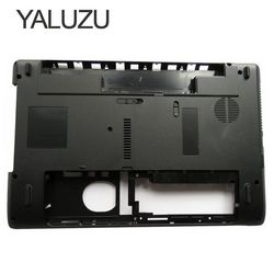 Yaluzu novo portátil inferior caso capa para acer aspire 5252 5253 5336 5736 5736g 5736z 5742 5742z pn: ap0fo000n00 menor caso preto