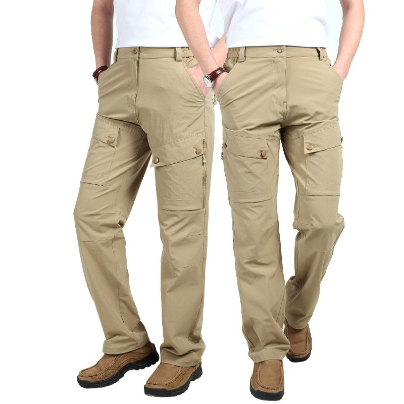 M~3XL 2016 New Spring Mens Plus Size Pants Quick Dry Breathable Long Short Trousers Man Straight Outdoor Waterproof Pantalones (24)