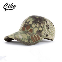 New Baseball Cap Snapback Hats For Boy Girl Fashion Visor Cap Camouflage Outdoor Play Sun
