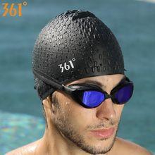 f4fb2b6bc6c3 361 Cappellini per Gli Uomini Le Donne I Capelli Lunghi Delle Donne Cuffia  da nuoto per Piscina Professionale di Nuotata Del .