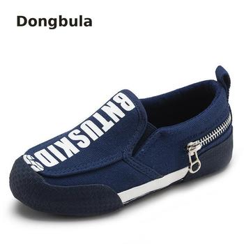 Spring Children Baby Shoes For Boys Loafers Moccasins Girls Casual Leather Slip-on Kids Flats Autumn Fashion Soft Bottom Canvas