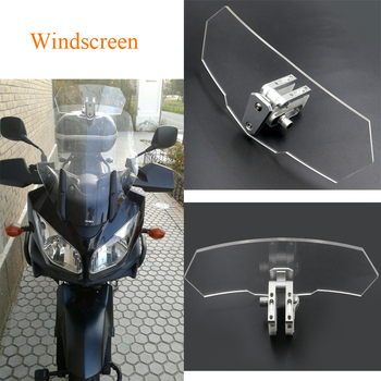 Motorcycle Wind Deflector Acrylic Windscreen Windshield for BMW r 1200 gs for honda vfr 800 for Yamaha for kawasaki versys 650