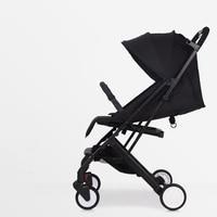 RU Бесплатная доставка! 2018 Детские коляски ультра легкий портативный может сидеть полулежа мини зонт складной коляски