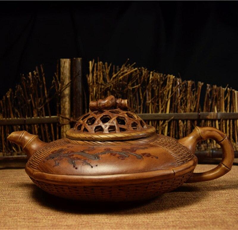 1200 мл большой Ёмкость Аутентичные известный Чай горшок Исин Zisha Чай горшок Китайский кунг-фу pu'er Чай Чёрный чай подарок Бесплатная доставка