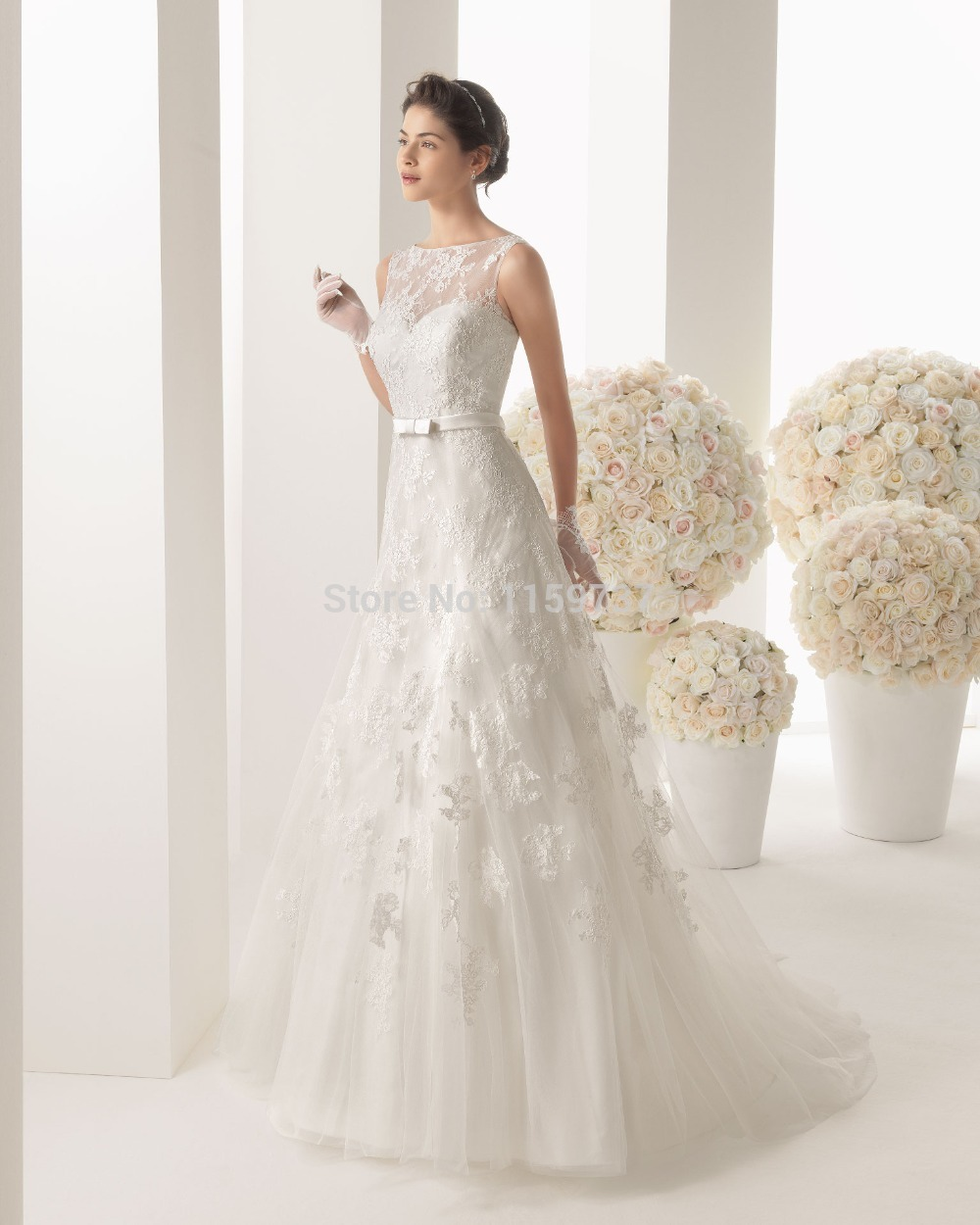 2 flowy wedding dresses flowy wedding dress with lace top