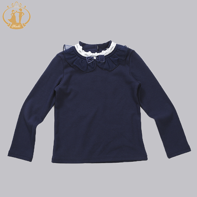 New Baby Fashion Winter Autumn Infant Knitted Sweater Girls Children Bottoming Shirt Lace Flower Sweater