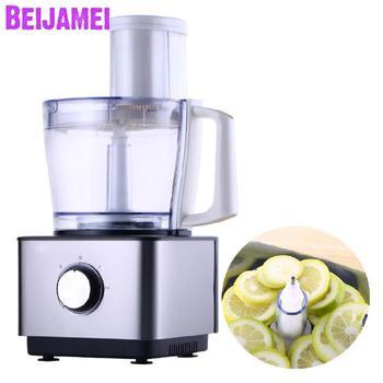 BEIJAMEI commerciële lemon snijmachine snijmachine thuis fruit groente slicer kleine elektrische fruit snijmachine