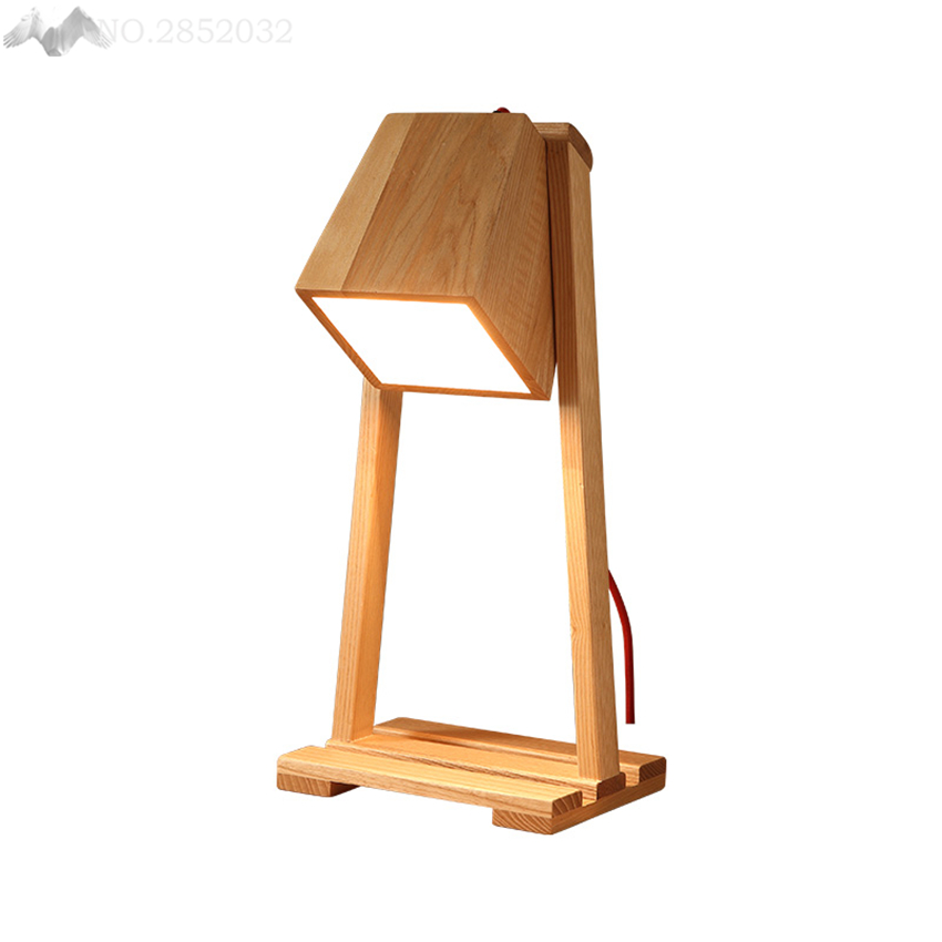 Traditional wooden table lamp search light reading study - Traditional table lamps for bedroom ...