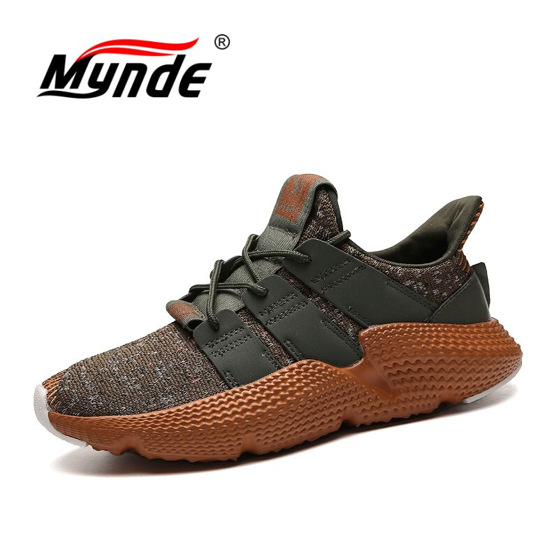 Mynde New Men Breathable Running Shoes for Mens Sneakers Bounce Summer Outdoor Sport Shoes Professional Light Training Shoes