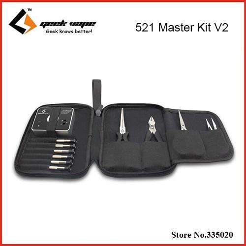 Original GeekVape 521 Master Kit V2 Tools Kit 521 tab mini Fully loaded tool kit