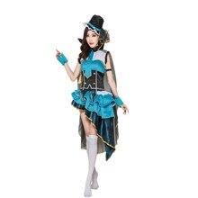 Lovelive Anime Love Live Eli Ayase Ellie Occupation Awakening Thief Uniform Cosplay Costume Halloween Costume For Women все цены