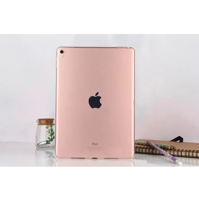 Soft Silicon TPU Case For Apple Ipad Pro 9.7 Back Cover Tablet Ultra Thin Clear Transparent Fundas Protective Bags Skin Shell