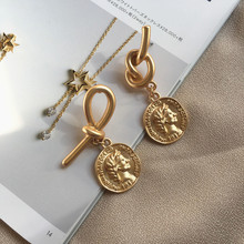 Timeless Wonder Vintage Braided Knot Figure Stud Earrings Punk Party Gift Brincos Super Runway Rare Art Deco Top Earing Ins 3239