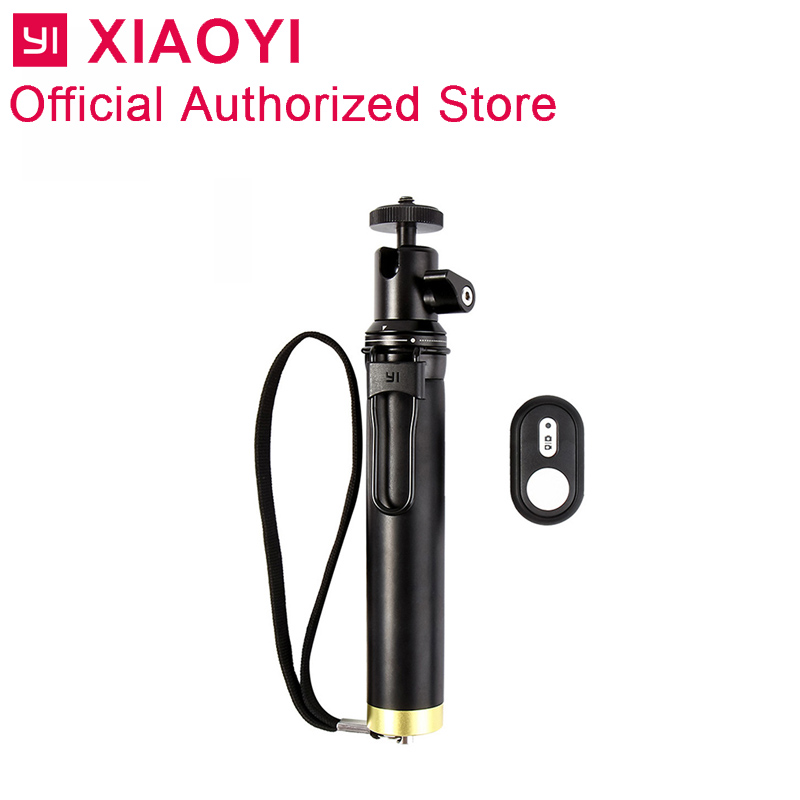 Original Yi Selfie Stick Monopod Shutter Holder Selfi Bluetooth Wireless For Xiaoyi 4K 4K Plus Lite