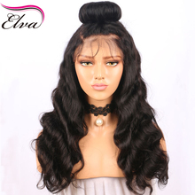 Elva Hair Full Lace Human Hair Wigs Pre Plucked Natural Hairline Body Wave Brazilian Remy Hair