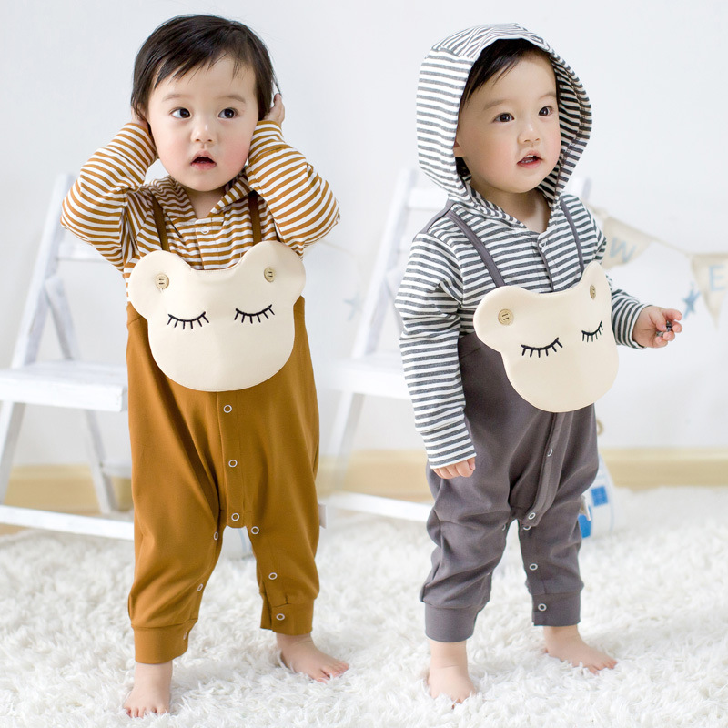Spring Autumn Baby Romper Clothing Newborn Baby Kids Boys Girls Long Sleeve Cartoon Shy Smile Romper Jumpsuit Baby Girl Outfits spring autumn newborn baby rompers cartoon infant kids boys girls warm clothing romper jumpsuit cotton long sleeve clothes