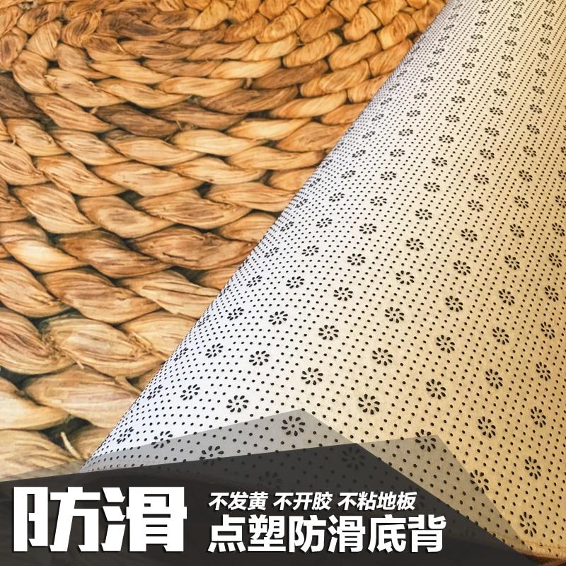Grand tapis rond 120 cm tapis japonais moderne minimaliste salon chambre table basse ronde chaise pivotante tapis - 2