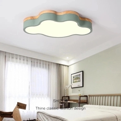Macaron color LED Ceiling Lights For Child room Living Room cloud shape With Remote Control Ceiling Lamp Lighting FixturesMacaron color LED Ceiling Lights For Child room Living Room cloud shape With Remote Control Ceiling Lamp Lighting Fixtures