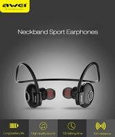 New Awei ipipoo Wireless Bluetooth Headphones Sport Stereo Headset Earphone With MIC