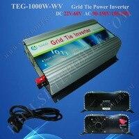 1000 w power inverter dc 22-60 v legame di griglia micro inverter per il sistema solare 120 v