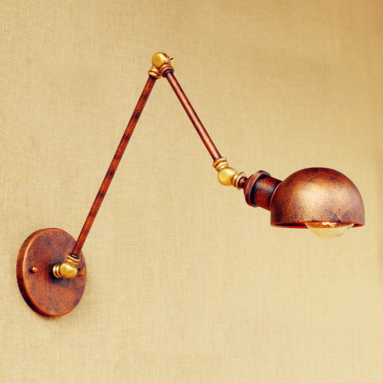 Applique Murale Loft Vintage Wall Light Swing Long Arm Wall Lamp Edison Industrial Wall Sconce Arandelas Lamparas Pared perfect gold silver clutch purse fish shape bag stylish genuine cowhide modernbag ladies brand designer messenger bags