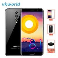 Vkworld K1 смартфон 4G Android 8,1 21MP 3 задняя камера мобильный телефон Восьмиядерный 4G + 6 4G B беспроводной Quick Charge 4040 мАч сотовые телефоны