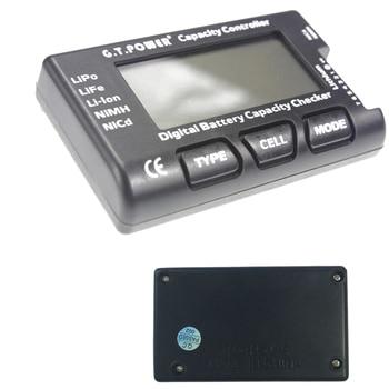 цена на 1pcs G.T.Power 2-7S Digital Battery Capacity Checker Controller Tester for LiPo Li-ion NiMH Nicd Voltage Balance