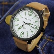 YAZOLE Luminous Wrist Watch Men Watch Sport Watches Men's Watch Clock saat erkek kol saati relogio masculino relojes hombre 2018