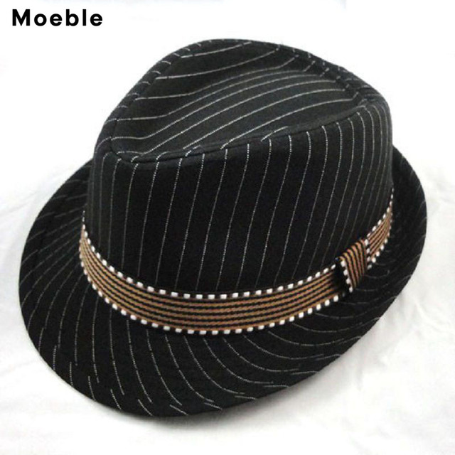 6d3a75ae08e Moeble Boys Girls Fedoras Baby fedora hats Children s Top Hat Skull Cap  Trilby Kids Canvas Cowboy