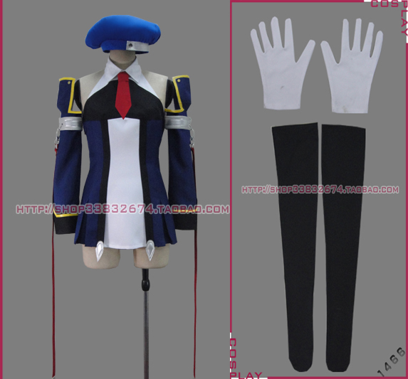 BLAZBLUE Noel Vermillion cosplay costume New in Stock Retail / Wholesale Halloween Christmas