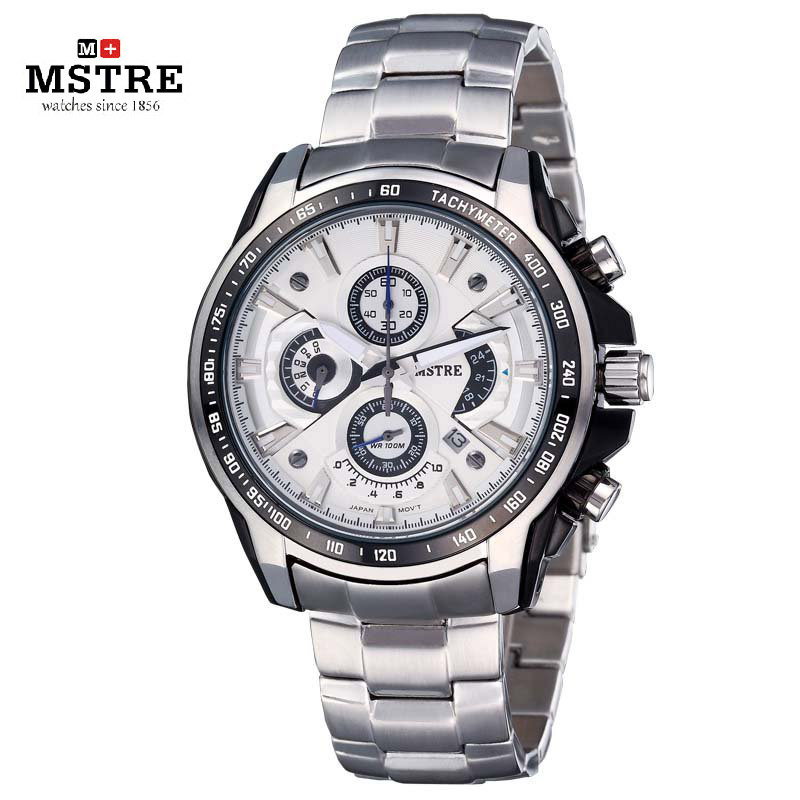 Brand Speed Racer Sport Business Fashion Watch Men s Quartz Wristwatch Multi Function Chronograph Clock Sapphire