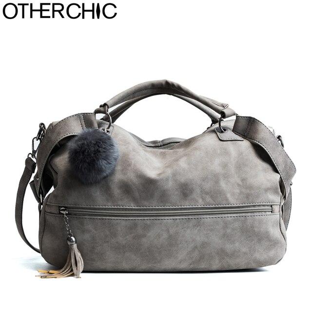 9eef419aa7 OTHERCHIC Hot Sale Suede Leather Tassel Bags Women Brand Designer Handbags  Quality Tote Women Shoulder Messenger