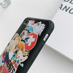 Fashion Brand Phone Case Cover Coque For iPhone 6 6s 7 8 Plus X Funda Case iPhone XS XR Max Cases Fundas Dog Dragon Animal 4